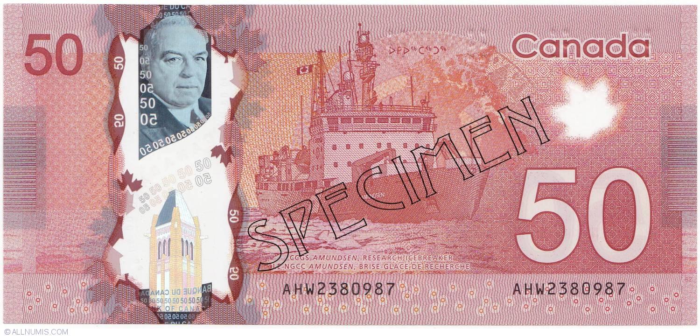 $50 Dollars 2012