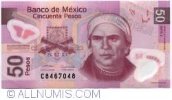 Imaginea #1 a 50 Pesos 2008 (28. IV.) - Serie J