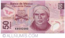 Imaginea #1 a 50 Pesos 2008 (28. X.) - Serie K