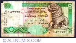Image #1 of 10 Rupees 2001 (12. XII.)