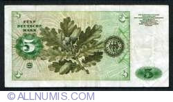5 Deutsche Mark 1960 (2. I.)