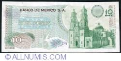 Image #2 of 10 Pesos 1971 (3. II.)