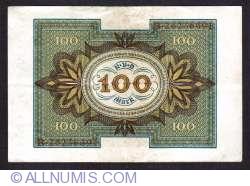Imaginea #2 a 100 Mark 1920 (1. XI.) - S