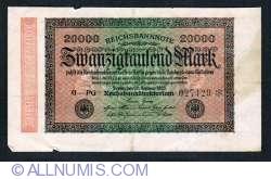 Image #1 of 20,000 Mark 1923 (20. II.) - 1