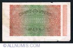 Image #2 of 20,000 Mark 1923 (20. II.) - 1