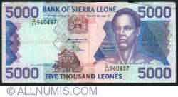 5000 Leones 1997
