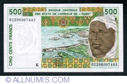 Image #1 of 500 Francs (20)02
