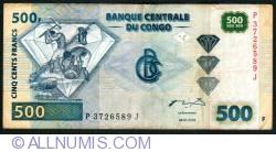 Image #1 of 500 Francs 2002 (4. I.) (2004)
