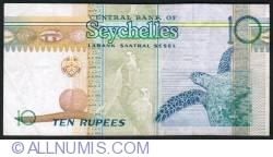 Imaginea #2 a 10 Rupees ND (1998)