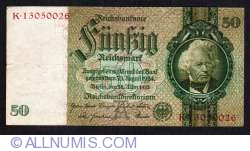 Image #1 of 50 Reichsmark 1933 (30. III.) - A (8 digit serial)