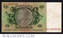 Imaginea #2 a 50 Reichsmark 1933 (30. III.) - A (serie cu 8 cifre)