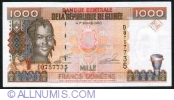 Image #1 of 1000 Francs 1998