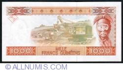 Image #2 of 1000 Francs 1998