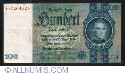 Image #1 of 100 Reichsmark 1935 (24.VI) - V