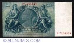 Image #2 of 100 Reichsmark 1935 (24.VI) - V
