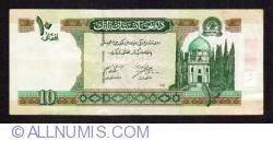 Image #1 of 10 Afghanis 2002 (SH 1381 - ١٣٨١)
