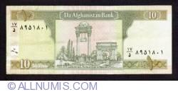 10 Afghanis 2002 (SH 1381 - ١٣٨١)