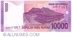 Imaginea #2 a 10000 Rupiah 2005/2005