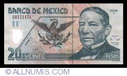 Image #1 of 20 Pesos 2003 (25. V.) - Serie V