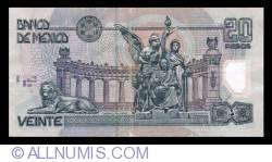 Image #2 of 20 Pesos 2003 (25. V.) - Serie V