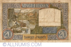 Image #2 of 20 Francs 1940 (6. VI.)