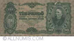 Imaginea #1 a 10 Pengö 1929 (1. II.)
