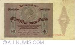Image #1 of 5 Millionen (5 000 000) Mark 1923 (1. VI.)