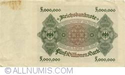 Image #2 of 5 Millionen (5 000 000) Mark 1923 (1. VI.)