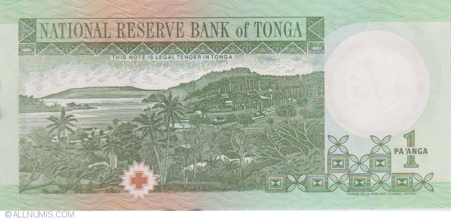 Tonga Set 10 PCS Pick- 37 UNC 1 Paanga 2008