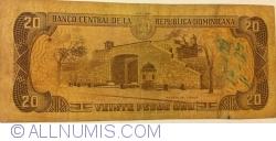 Imaginea #2 a 20 Pesos Oro 1988
