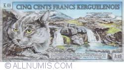 500 Francs 2011 (15. I.)
