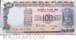 Image #1 of 100 Rupees ND (1985-1990) - signature R. N. Malhotra