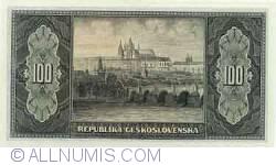 Image #2 of 100 Korun ND (1945)