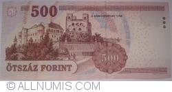 Imaginea #2 a 500 Forint 2010