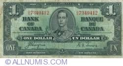 1 Dollar 1937 (2. I.)
