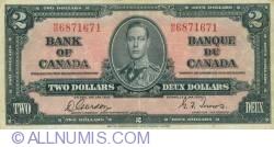 2 Dollars 1937 (2. I.)