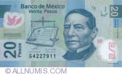 Image #1 of 20 Pesos 2006 (19. VI.) -  Serie B