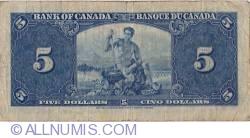 5 Dollars 1937 (2. I.)
