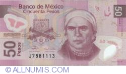 Imaginea #1 a 50 Pesos 2006 (22. XI.) - Serie F