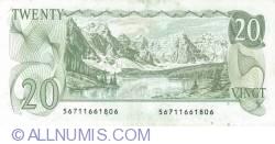 20 Dolari 1979 - semnături Thiessen / Crow