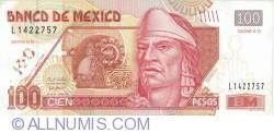 100 Pesos 2008 (28. X.) - Series ED