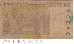 Image #2 of 1000 Francs (20)02