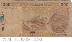 Image #1 of 1000 Francs (20)02