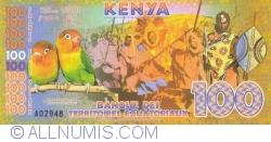 Imaginea #2 a 100 Franci Ecuatoriali 2015 (18. VI.) - Kenya