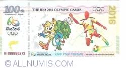 Imaginea #1 a 100 th 2016, Rio 2016 - Brazilia
