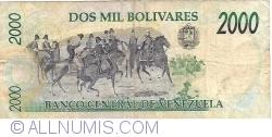 Imaginea #2 a 2000 Bolivares 1998 (6. VIII.)