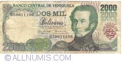 Imaginea #1 a 2000 Bolivares 1998 (6. VIII.)