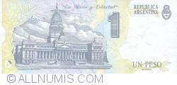 Image #2 of 1 Peso ND (1992) - Replacement Note