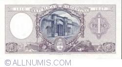 Image #2 of 1 Peso ND (1952-55)
