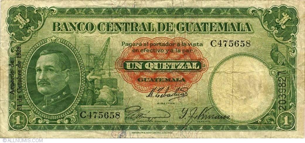 1 Quetzal 1928 31
